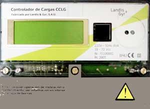 controlador cargas eléctricas