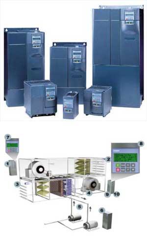 Variador velocidad motores Siemens